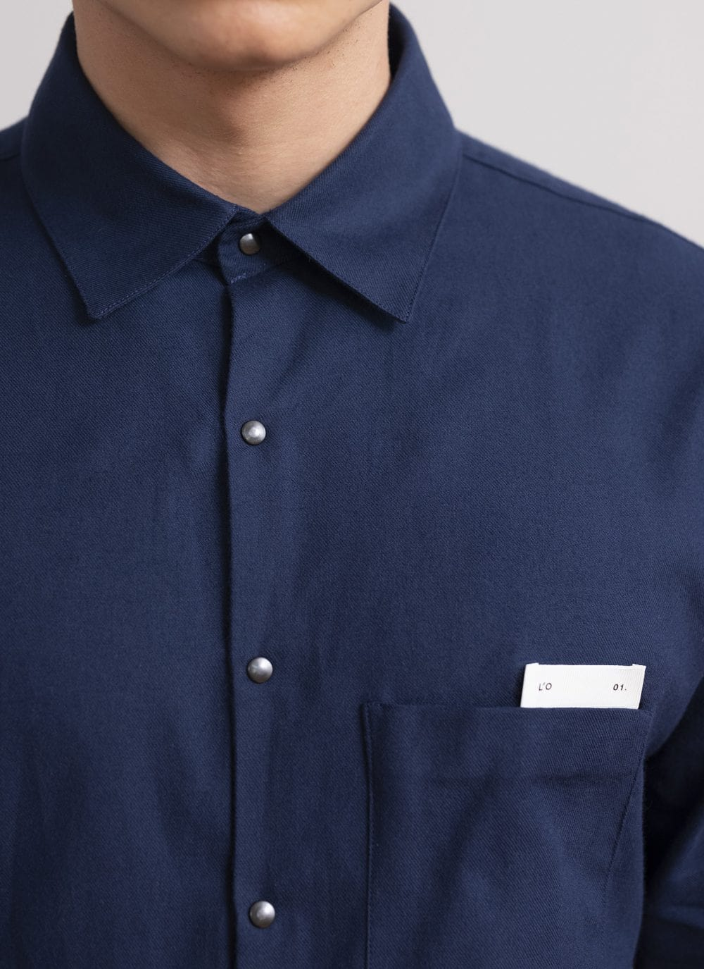 The All Day Shirt || Navy | L'Estrange X OPUMO
