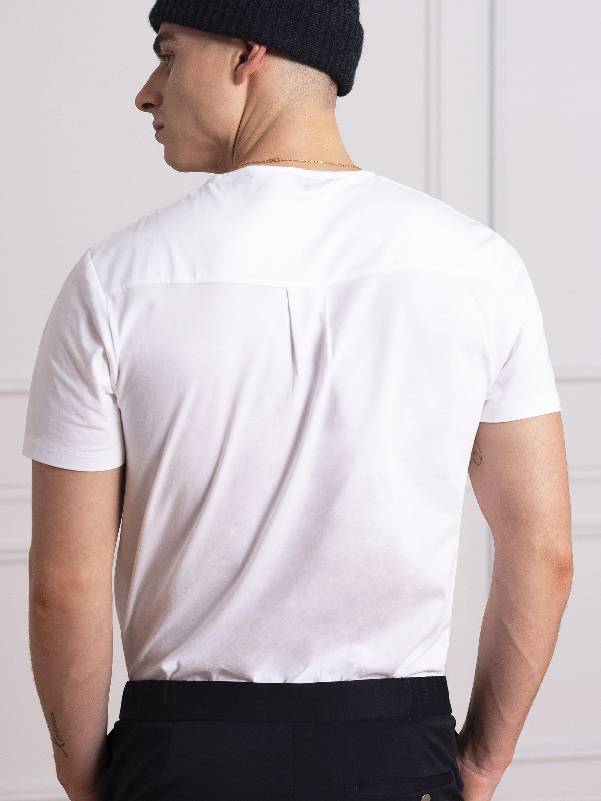 The Tailored Tee Organic || White | Organic Cotton