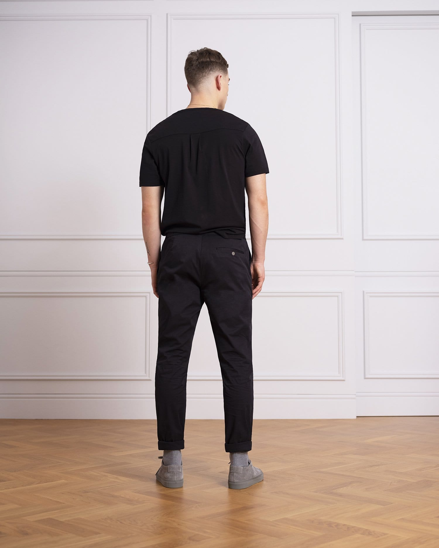 The 24 Trouser || Midnight Navy | Stretch Cotton