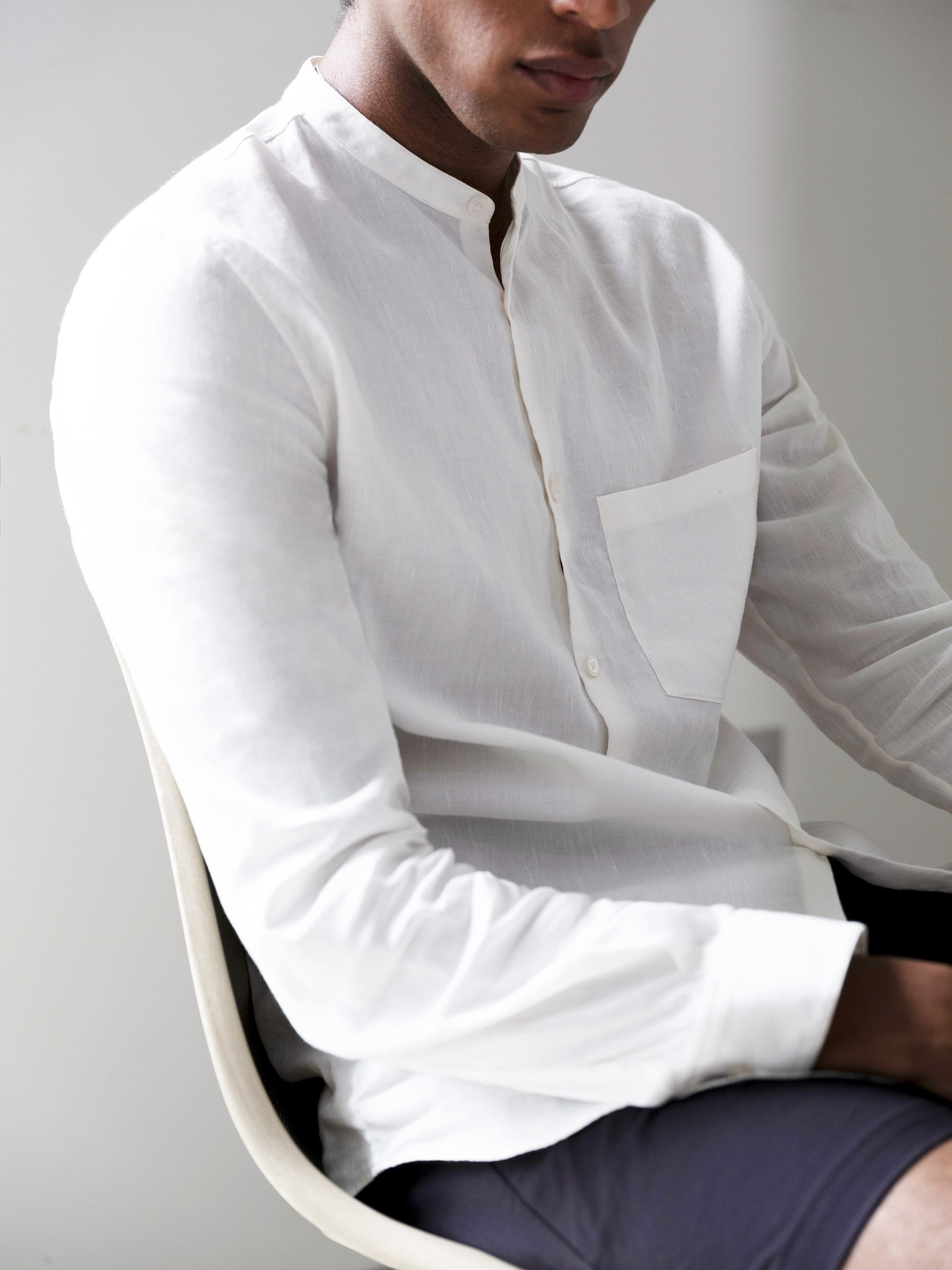 The All Day Shirt CONCEPT Linen || Natural | Linen