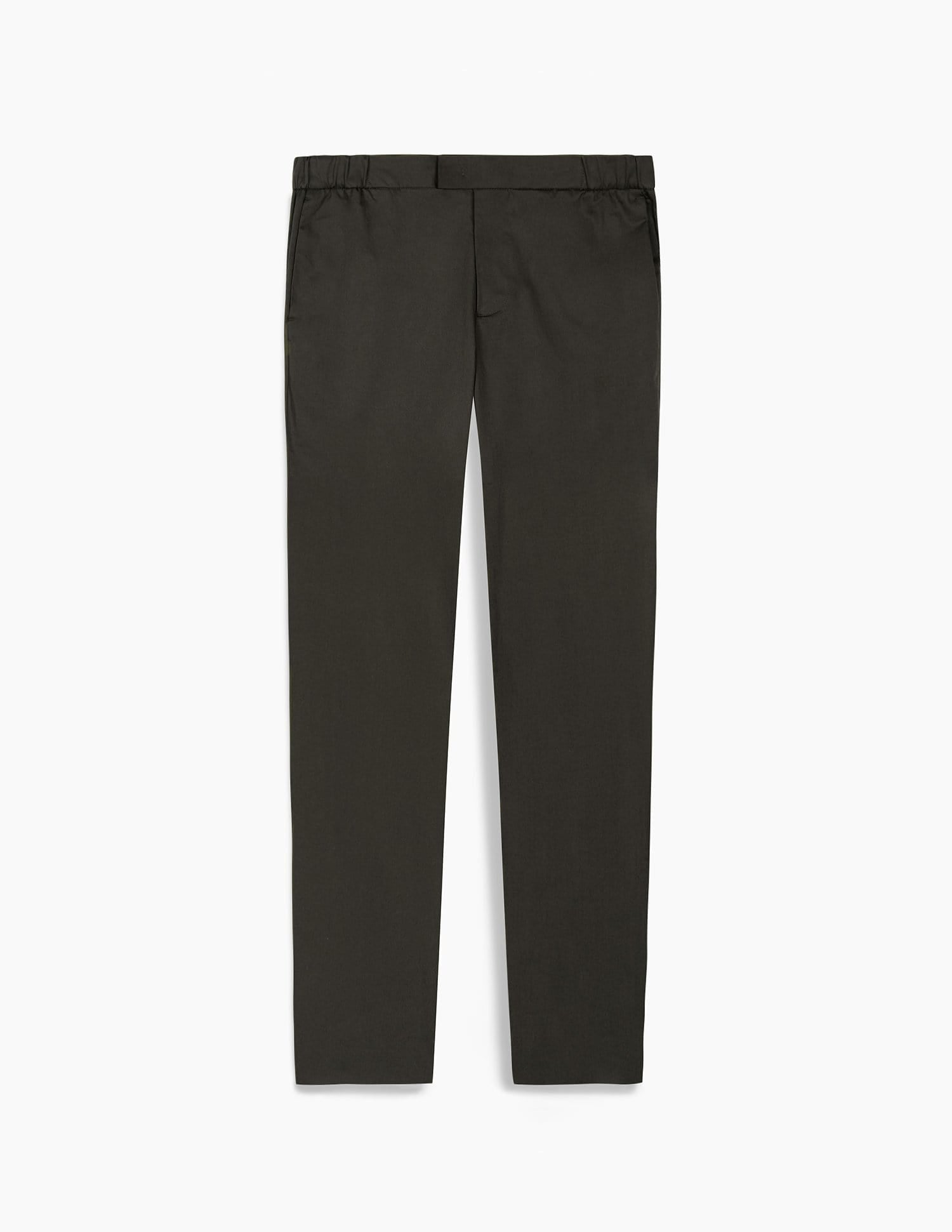 The 24 Trouser || Green Slate | Stretch Cotton
