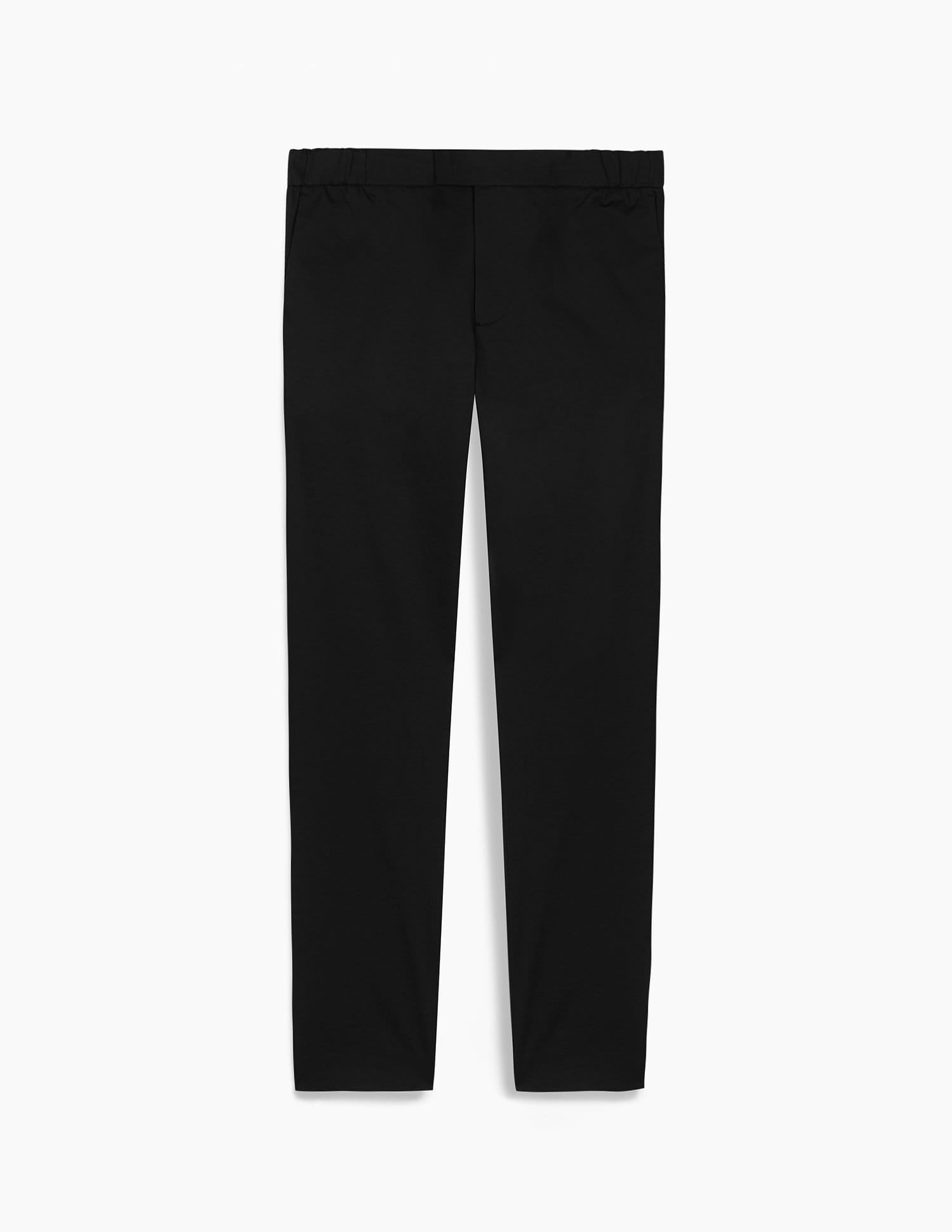 The 24 Trousers || Black | Stretch Cotton