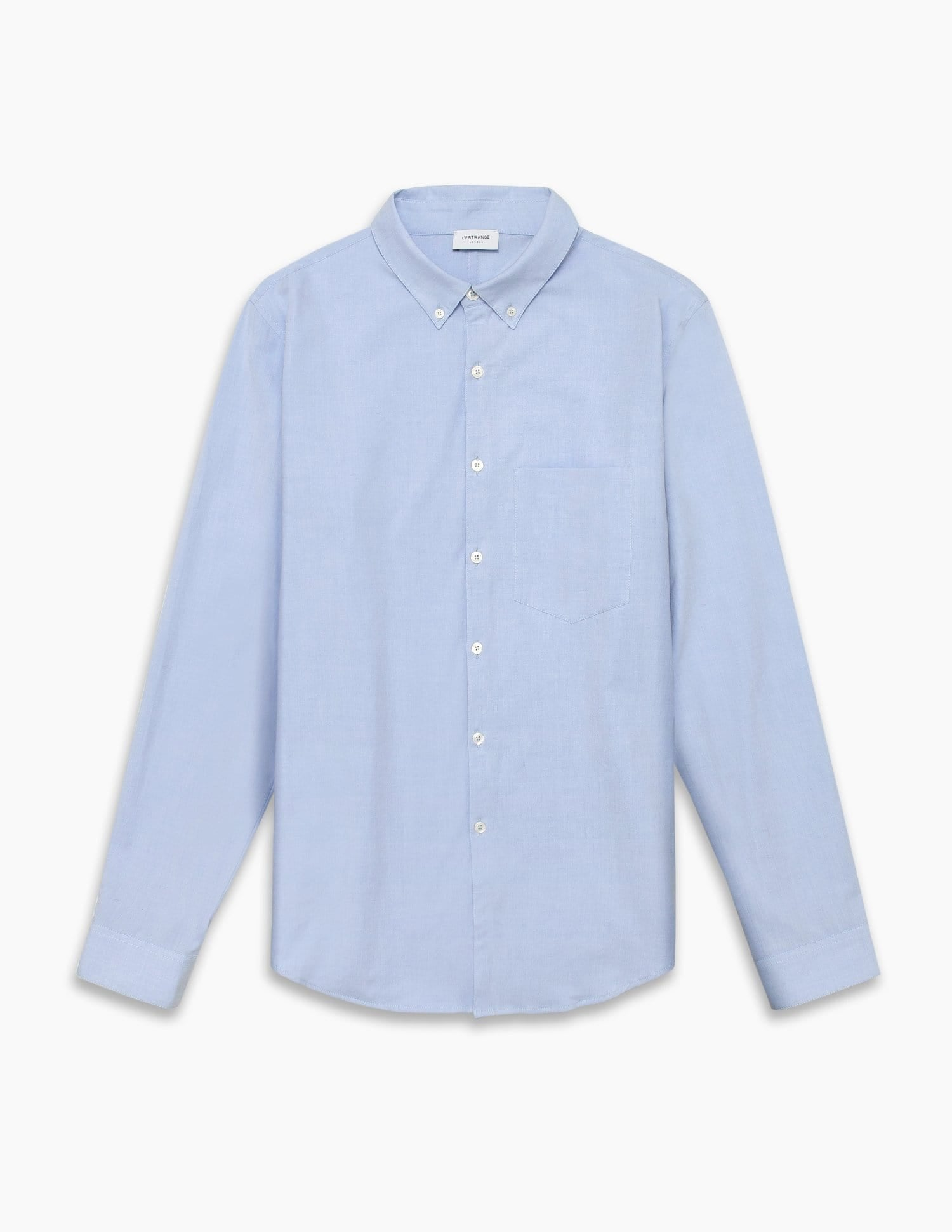 The All Day Oxford Shirt || Light-Blue | Stretch Cotton