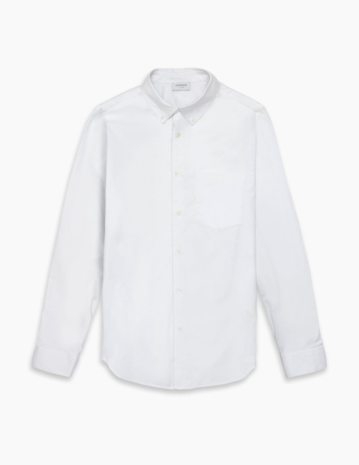 The All Day Oxford Shirt || White | Stretch Cotton