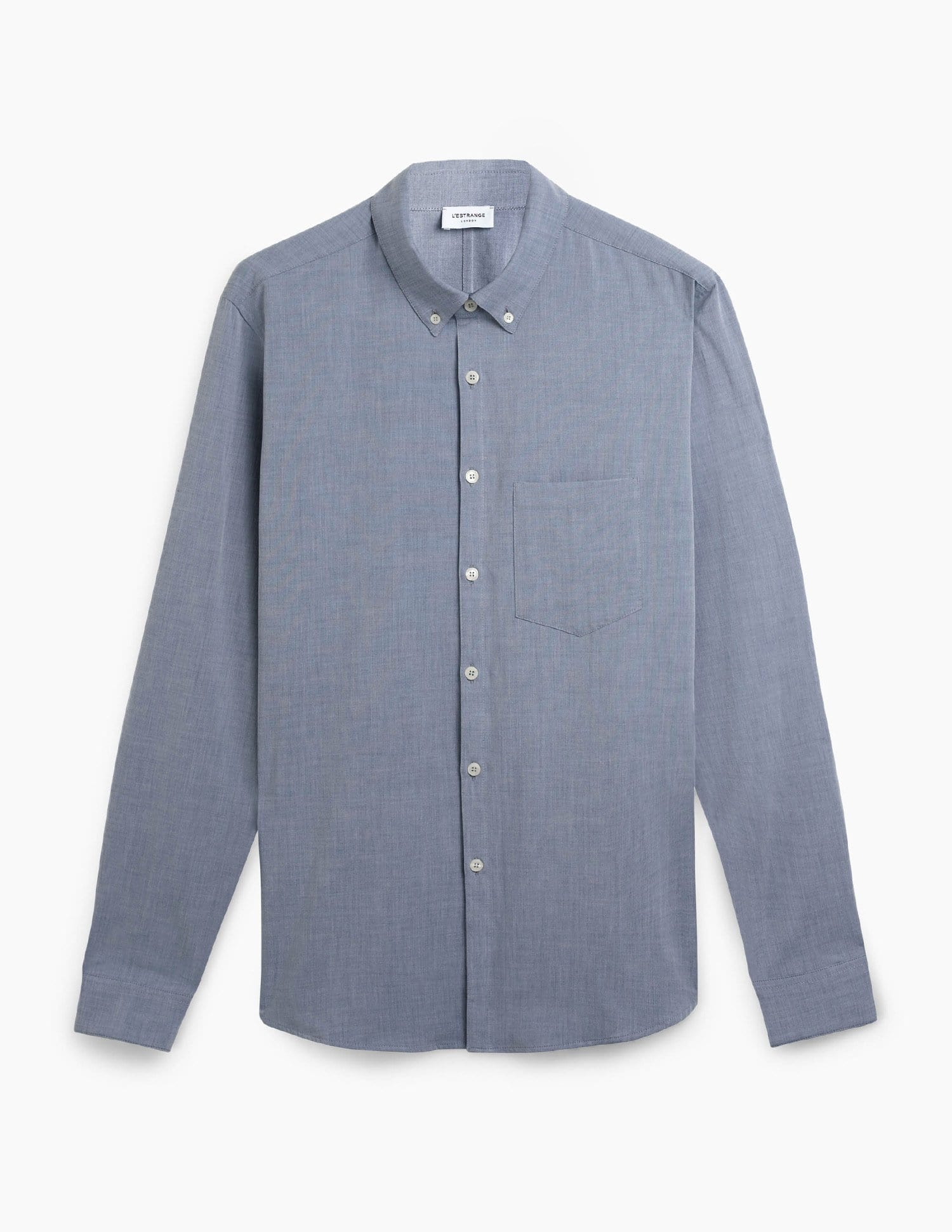 The All Day Shirt || Navy-Chambray | Collared