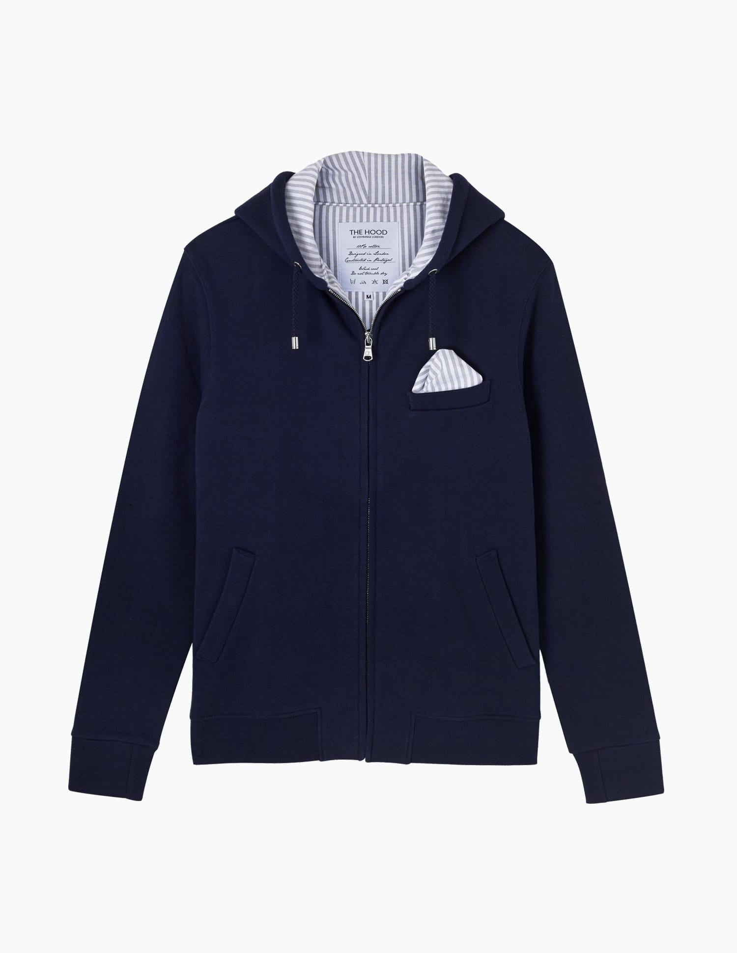 The Classic Hood || Navy | Marmi Stripe