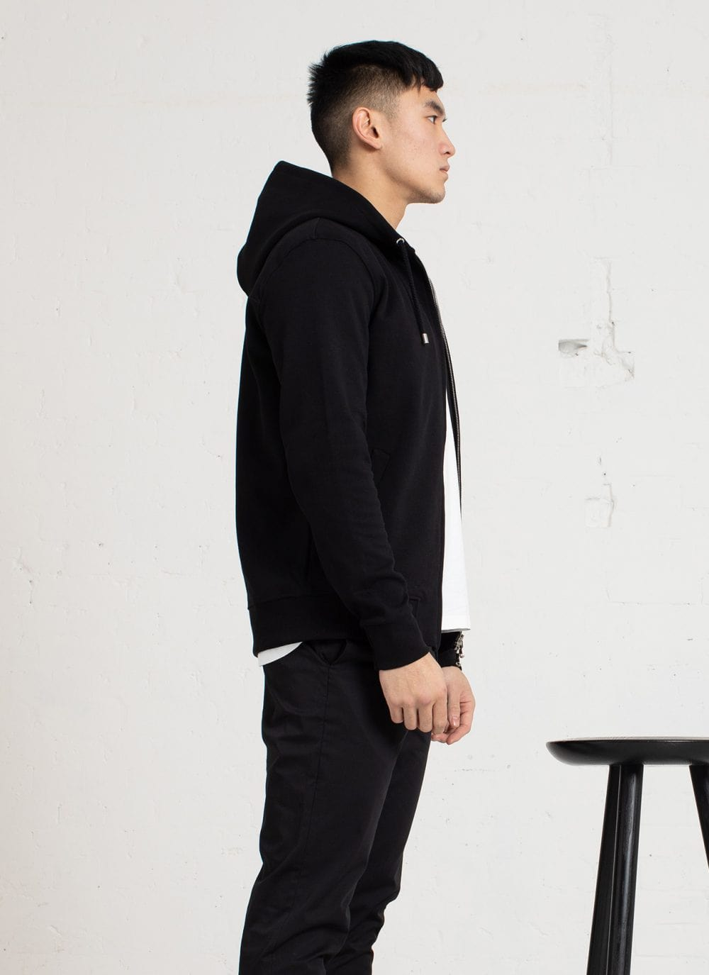 The Classic Hood || Black | Monochrome