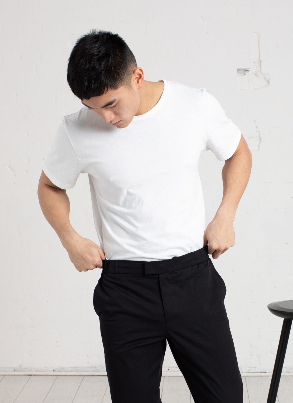 The Tailored Tee || White | Supima Cotton