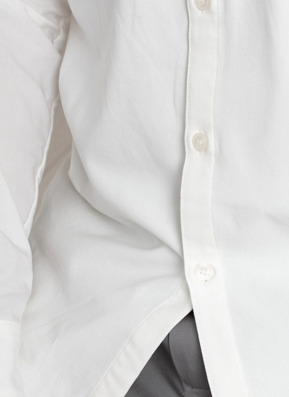 The All Day Shirt || White | Collared