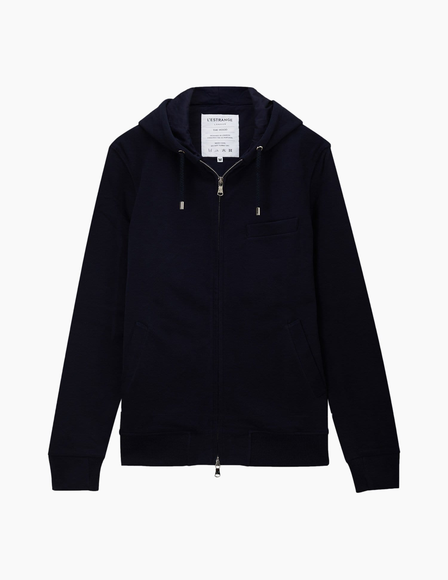 The Monochrome Hood || Navy | Monochrome