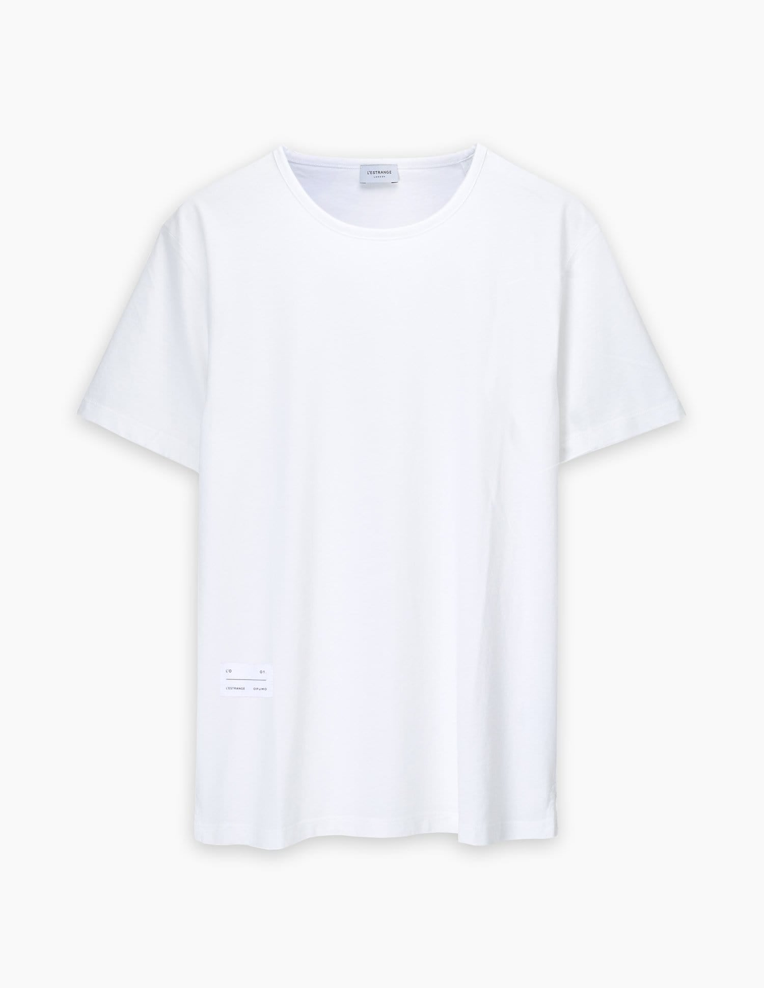 The Tailored Tee || White | L'Estrange X OPUMO
