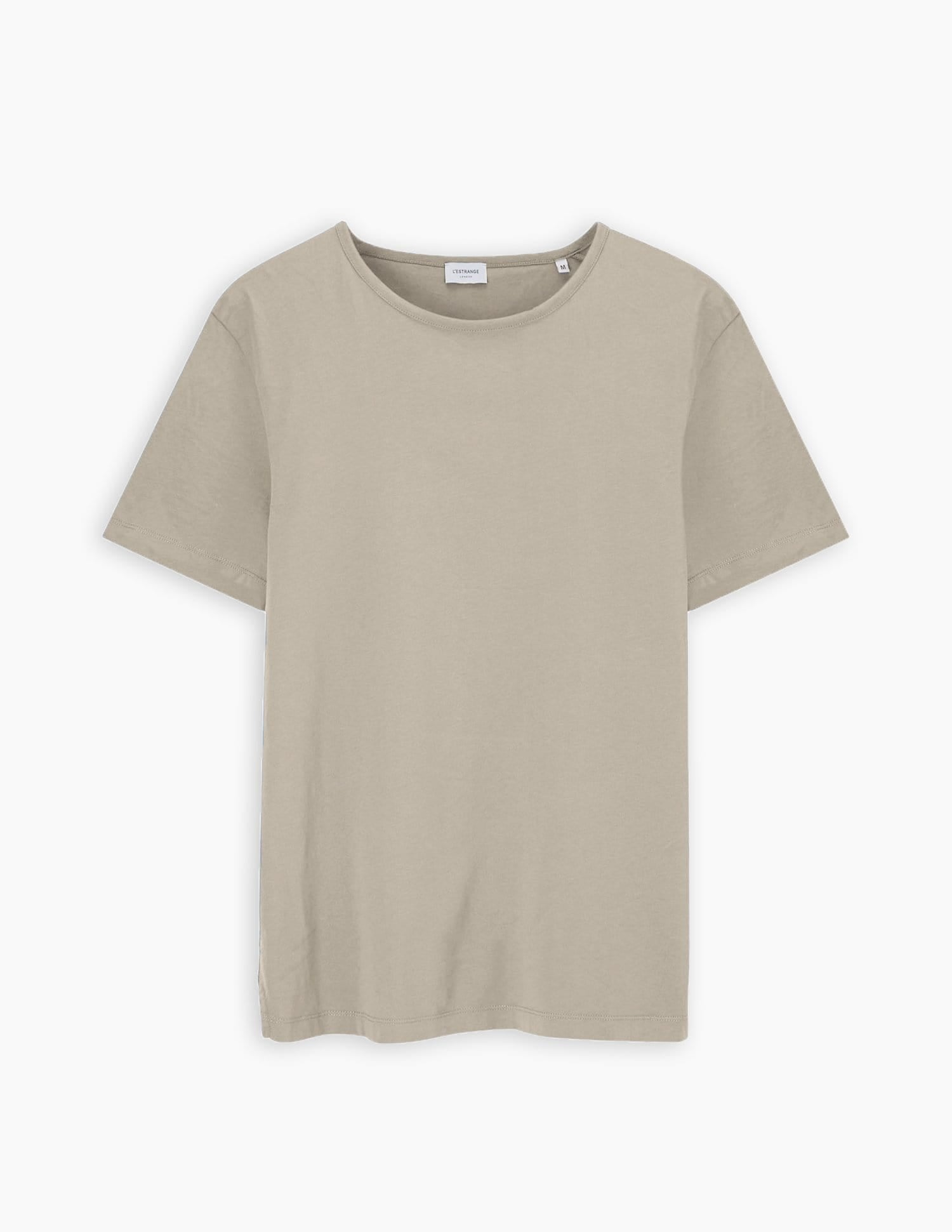 The Tailored Tee Organic || Light Taupe | Organic Cotton