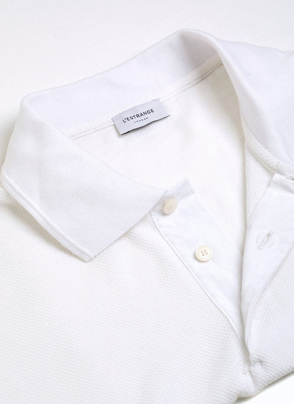 The Polo Shirt || White | Organic Cotton