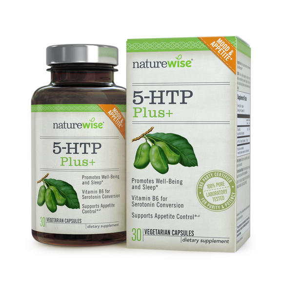 5-HTP 200mg Advanced Time Release - naturewise-30 Caps