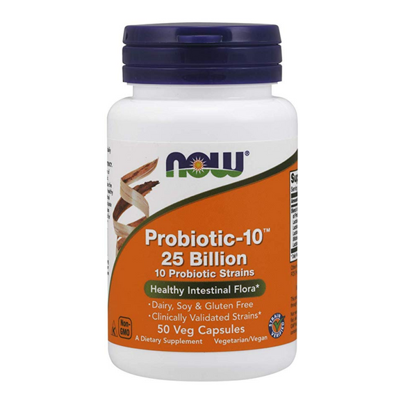 Probiotic 10 - 25 billion  50 veg caps