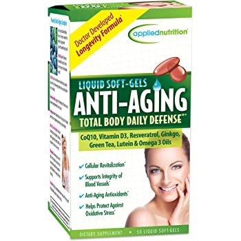 Anti-Aging Total Body Defense, 50 Count-Applied Nutrition