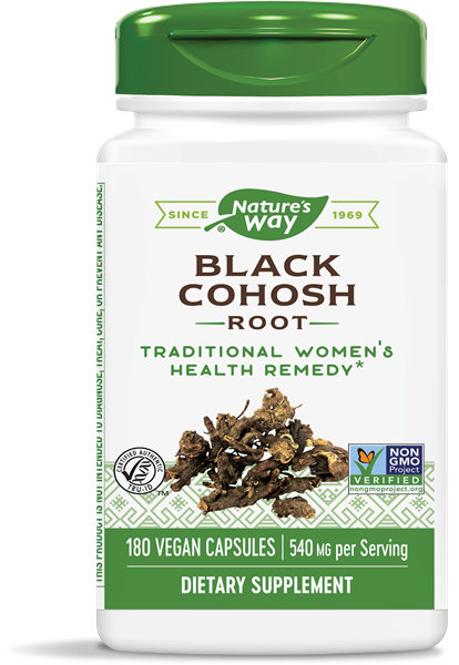 Black Cohosh 180 Capsules - Nature's Way