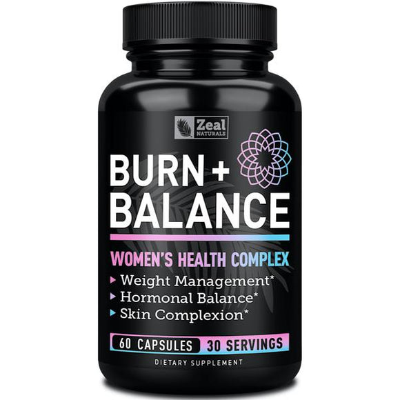 Burn + Balance - Women's Health Complex 60Caps