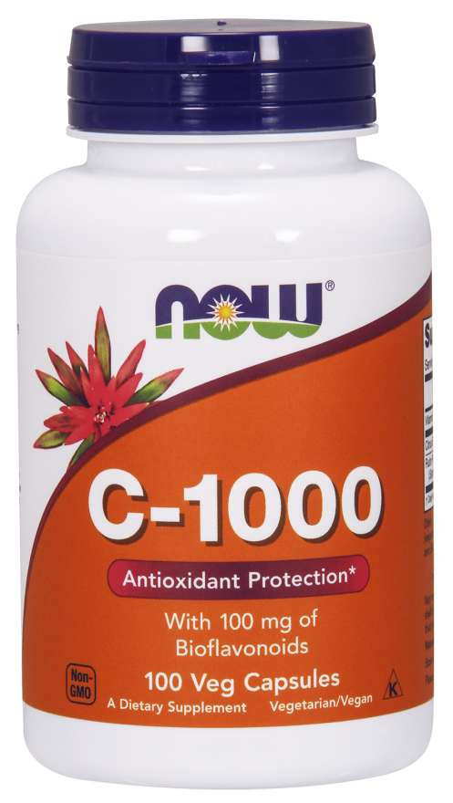 Vitamin C-1000 Complex-, 100 Veg Capsules - Now Food