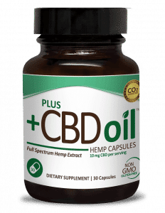 CBD Oil- Green Full Spectrum Hemp Extract, 30 softgels