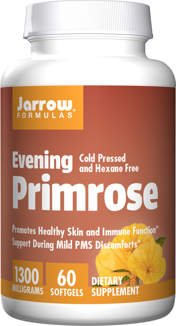 Evening Primrose 1300mg, Jarrow Formula 60 Soft Gels - AZ