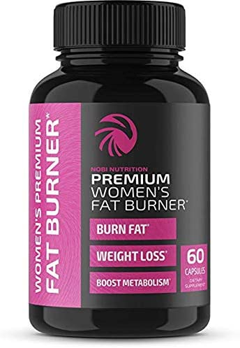 Fat Burner for Women - Nobi Nutrition 60Caps