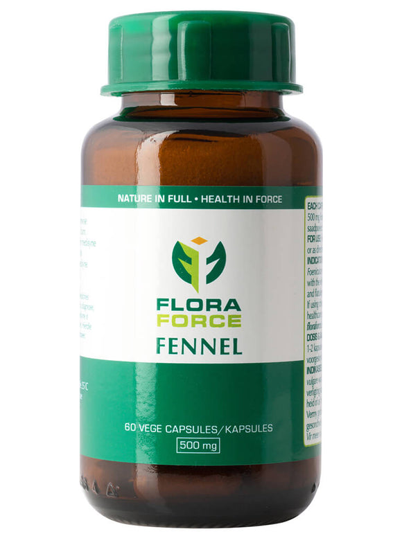Fennel 60 Capsules - Flora Force