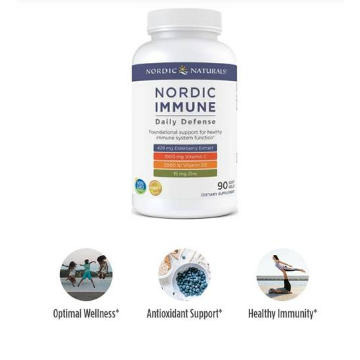 Nordic Immune Daily Defense, 90 Soft Gels