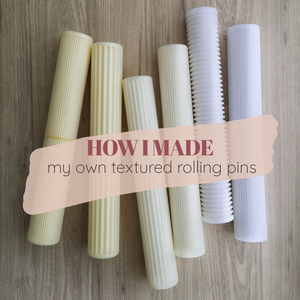 How I Made My Own 3D Embossed Rolling Pins