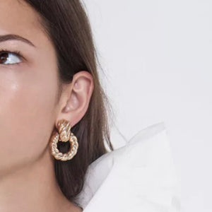 DIVA AF Earrings Gold AMIEE