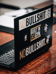 NO BULLSHIT STICKERSET