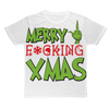 Merry Fucking  XMAS Bedrucktes Unisex Shirt