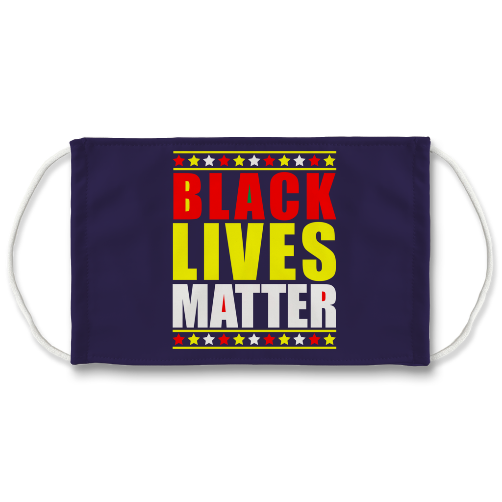 Black Lives Matter Sublimation Face Mask + 10 Replacement Filters
