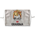 Grandma Sublimation Face Mask