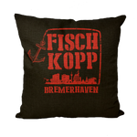 FISCHKOPP2 Throw Pillows