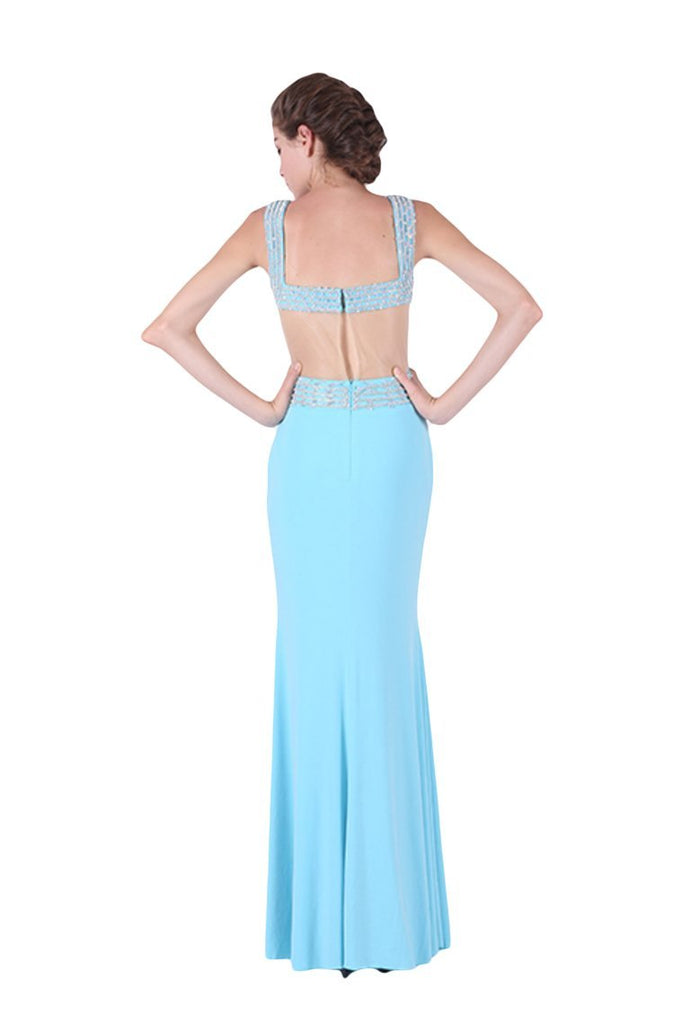 2019 Mermaid Prom Dresses Straps Spandex With Beading Zipper