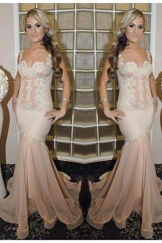 Prom Dresses Sequin Sheer Backless Sexy Bling Evening Dress