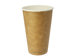 NEW!  Kraft  Compostable Hot Cups