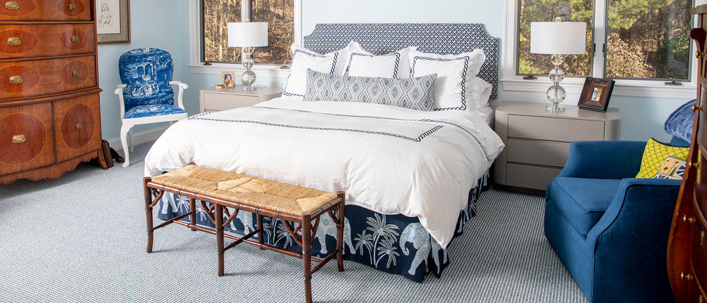 Tailored Bed Skirts I Loom Decor