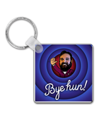 Load image into Gallery viewer, Bye Hun! Keyring