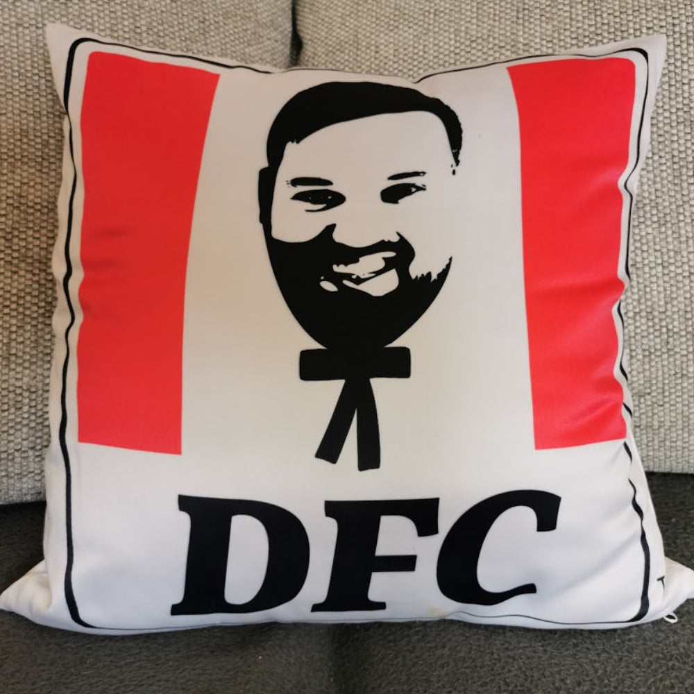 Your own Custom 'KFC Style' Cushion - 40cm