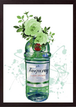Load image into Gallery viewer, Happy Dais' Tanqueray Gin Framed Print