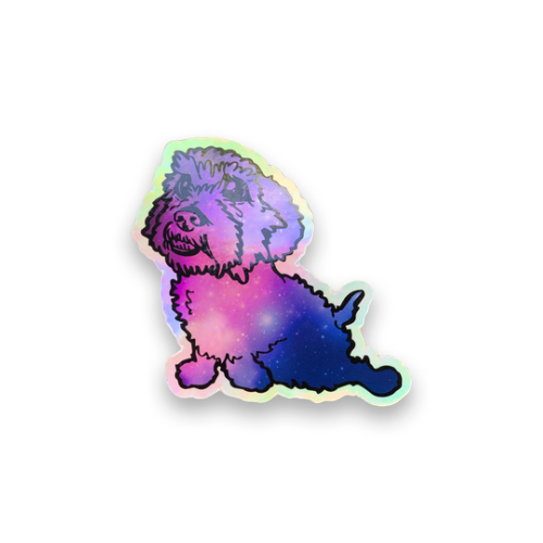 Galaxy Happy Dash Decal