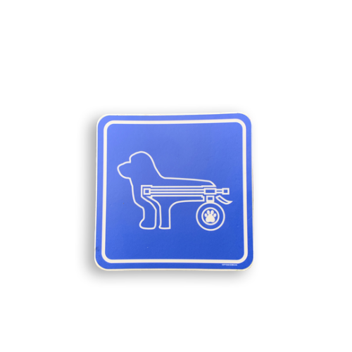 Pet Disability Awareness Decal