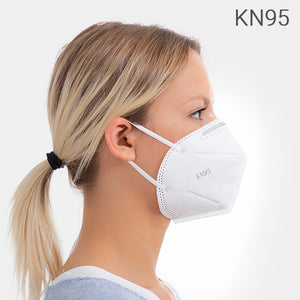 KN95 Self-Filtering Face Masks - 5 Layers (PACK OF 50) 2 Year Guarantee
