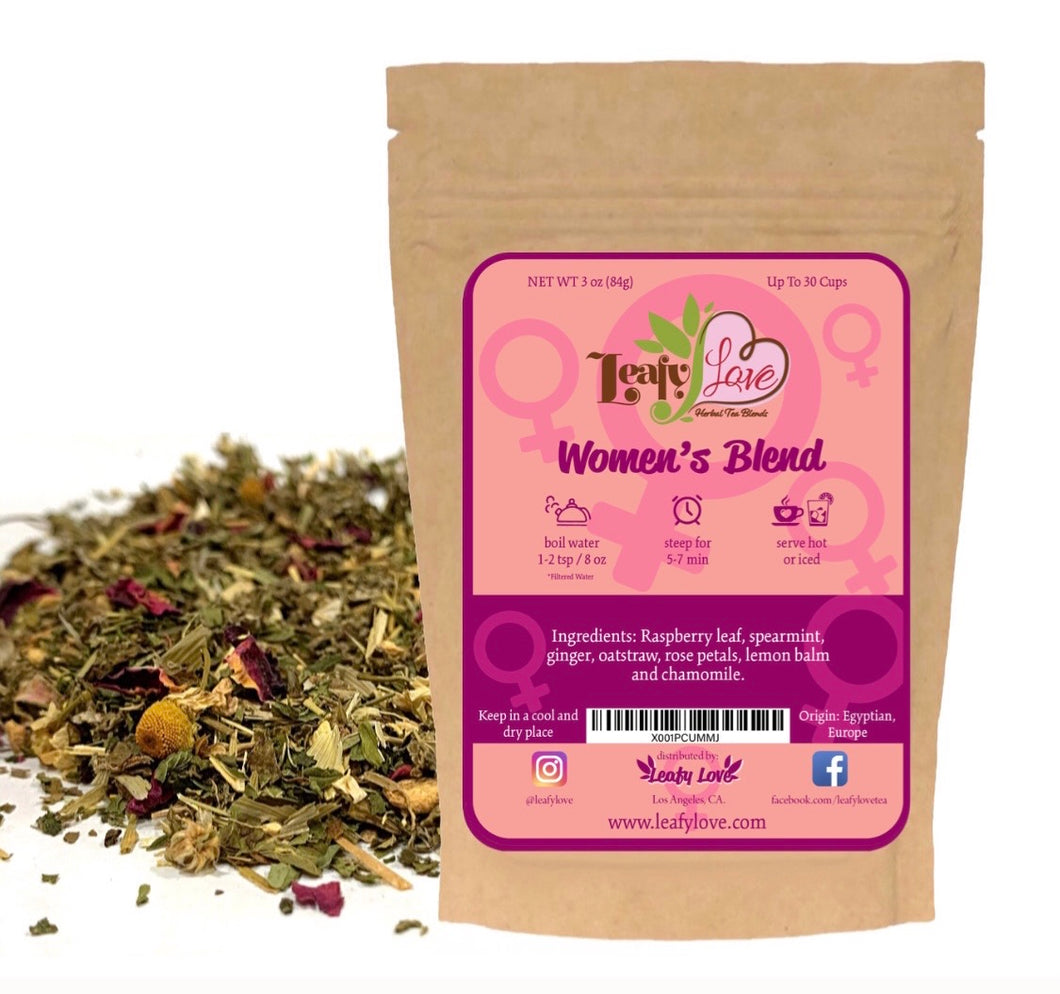 Leafy Love Women's Blend - Leafy Love Herbal Tea Blends