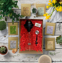 Load image into Gallery viewer, Leafy Love Matcha Latte Sampler Gift Set - Leafy Love Herbal Tea Blends