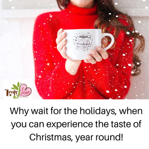 Leafy Love Christmas in a Cup - Leafy Love Herbal Tea Blends