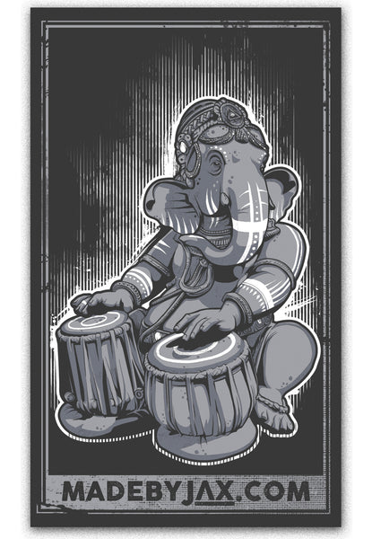 Ganesh - Vinyl Sticker