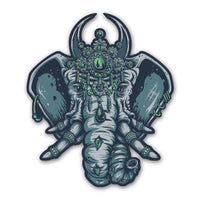 Elephant Totem - Vinyl Sticker